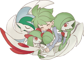 Wally + Ralts Line