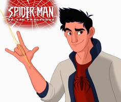 Casual Spidey Hamada by Percevanche