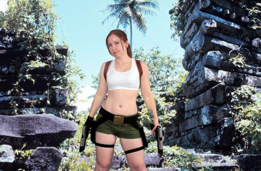 Lara Croft South Pacific by GreenElfie