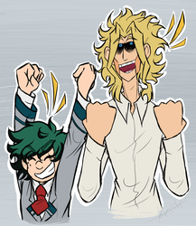 theyre cheering for you by asymmetric-ace