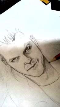 Kiefer Sutherland (The Lost Boys) sketch by ECTO87