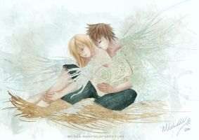 Roxas X namine Imprinted love by michelle-memories