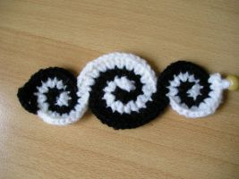 crochet bracelet 16 by aquachild