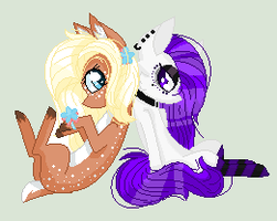 Commission for BeckyChelsea [PAGEDOLL] by CocoaPOPcorn