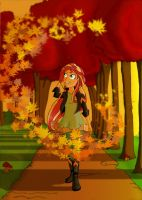 Sunset - Autumnal Equinox by PapyJr13