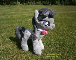 Handmade Octavia Plushie by HipsterOwlet