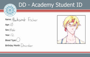 ~Student ID~ Aleksandr Fischer by BananaConductor