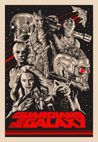 Guardians of the Galaxy by MessyPandas