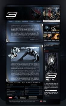Spiderman web design by adomas by loadinHQ