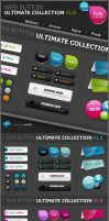 Web2Style Buttons Lab by FreaksLab