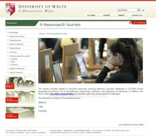 Library Website Screenshot 2 by mangion