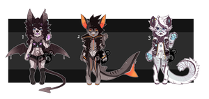 anthro adopts - setprice [ closed ] by ButterflyBandit