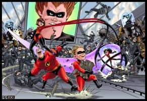 The Incredibles by mattPLOG