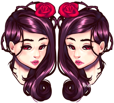 Gemini Roses by AnotherPie