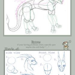 Lighty Dragon Tutorial part 2 by Lighteh