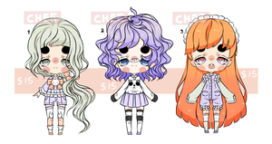 [open] Set price adopts $15 each by TaiyouChee