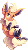 flareon in socks by rottingichor