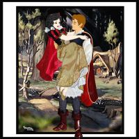 SNOW WHITE AND THE PRINCE,FAIRYTALE DISNEY!!! by Rob32