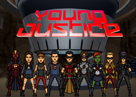 Young Justice (New Earth) by Nova20X