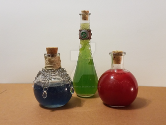 Potions by CrsShankill