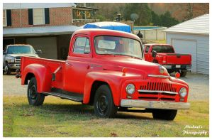 A Red International Pickup Truck by TheMan268