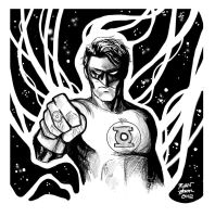 The Green Lantern by RADMANRB