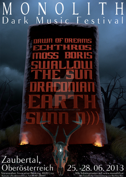 Monolith Festival - Poster by light-serpent