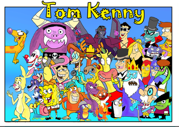 Tom Kenny tribute by raggyrabbit94