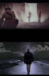 SPOILERS - Death of the Outsider - Daud Walks Away by lethe-gray