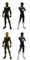 MCEU Black Panther and Golden Jaguar by shorterazer