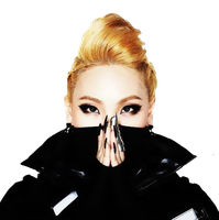 CL (2NE1) -CRUSH- .PNG by:Milevip by Milevip