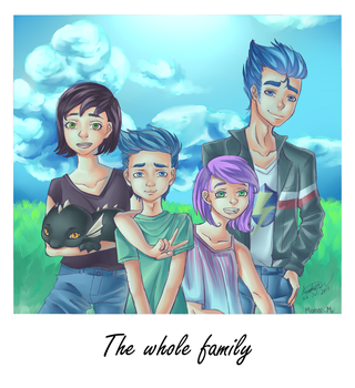 The Whole Family by PaulySentry
