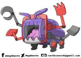 040 - TRACHINE (Pokedex ASMS2gen) by Meg4mente