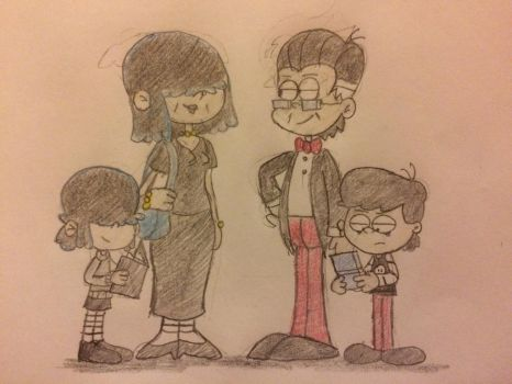 Adult Lucy's Family by JJSponge120