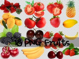 PNG Fruits by ShinVVIP