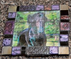 Mosaic Coaster by Deirdre-T