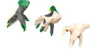 Gryphon Hand Tf by Chromedragon360