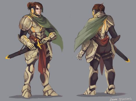 Knight by Whiksers