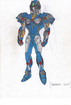 Tharros suit color variation by Aruvinu
