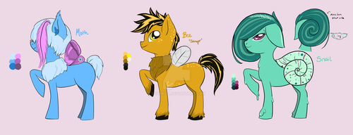 [Adopt] Bug-Ponies by yourKoa