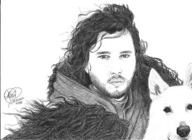 Jon Snow by kia88