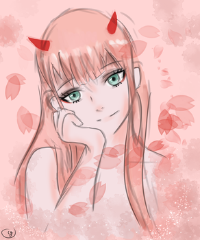 Zero Two by ttchristee