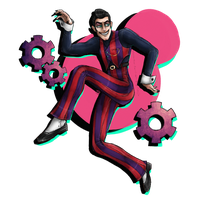Robbie Rotten by cross-the-swirl
