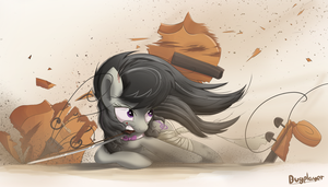 Octavia battle by Bugplayer