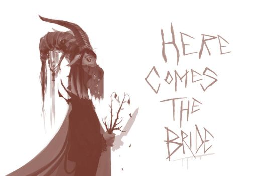 Here Comes The Bride by LonnieEHarrison