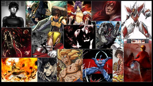 Anime Heroes Wallpaper by GT-Orphan