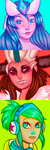 LoL Icons by ROGUEKELSEY