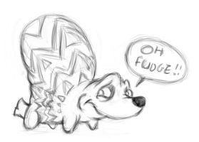 Fudgehog by DragonKick