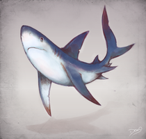 Blue Shark by Astral-Requin