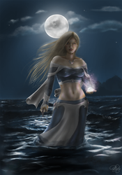 Sorcha By The Sea by SweetJeannie